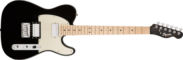 SQUIER Contemporary Telecaster® HH, Maple Fingerboard, Black Metallic