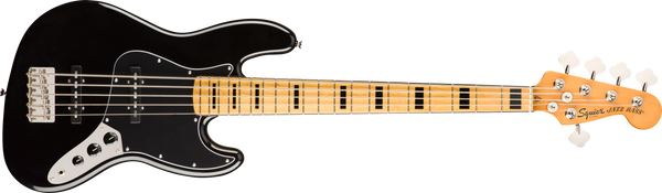 SQUIER Classic Vibe '70s Jazz Bass® V, Maple Fingerboard, Black