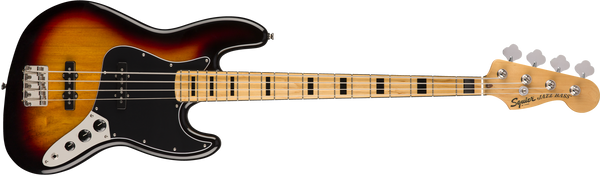 SQUIER  Classic Vibe '70s Jazz Bass® MN 3 Color Sunburst