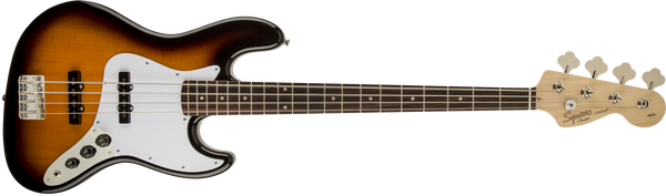 SQUIER Affinity Series™ Jazz Bass® Rosewood Brown Sunburst