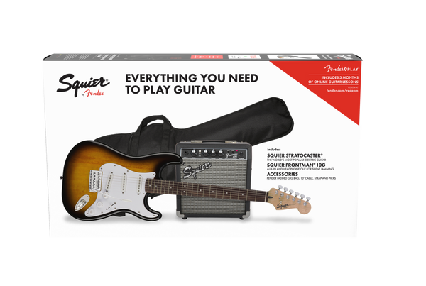SQUIER STRATOCASTER BSB GUITAR PACK