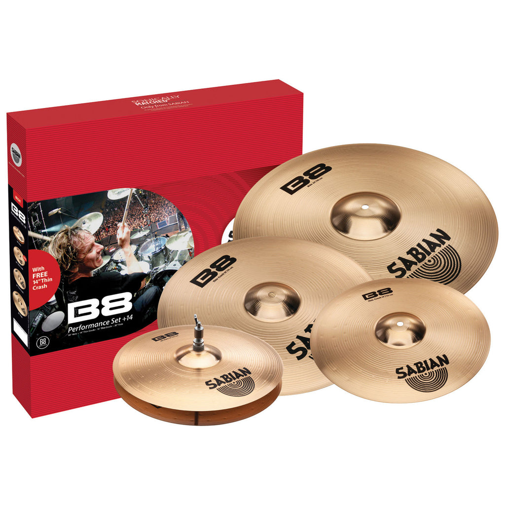 SABIAN B8 Performance Set - La Pietra Music Planet