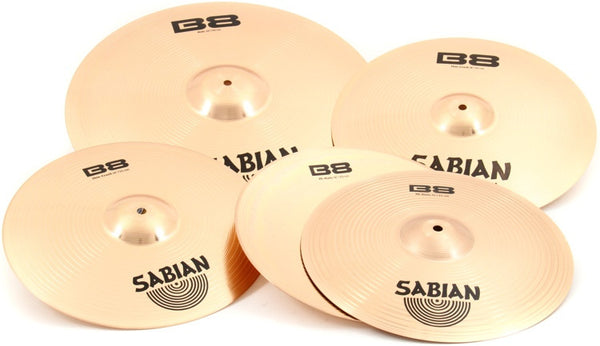 SABIAN B8 Set Promotional - La Pietra Music Planet