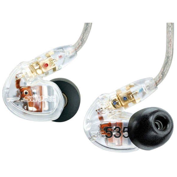 SHURE Se535cle Clear Auricolare in Ear - La Pietra Music Planet - 1