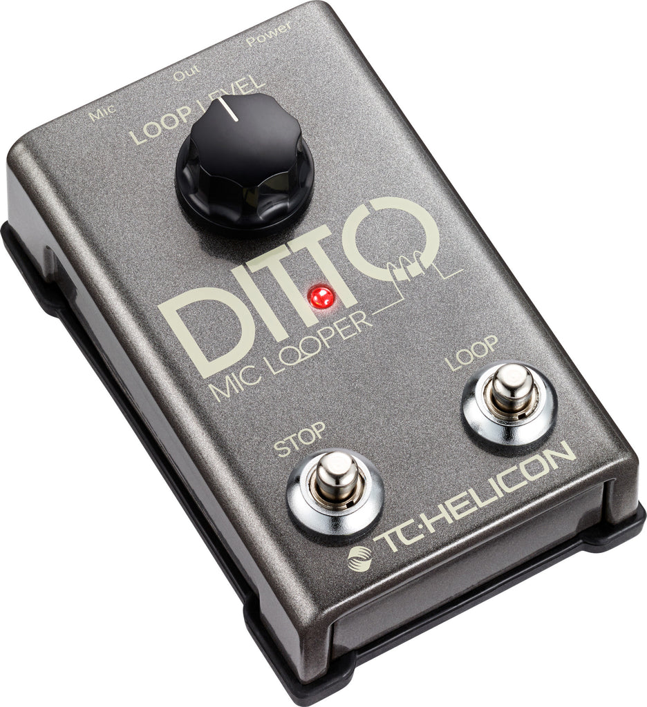 TC HELICON Mic Ditto Looper - La Pietra Music Planet - 1