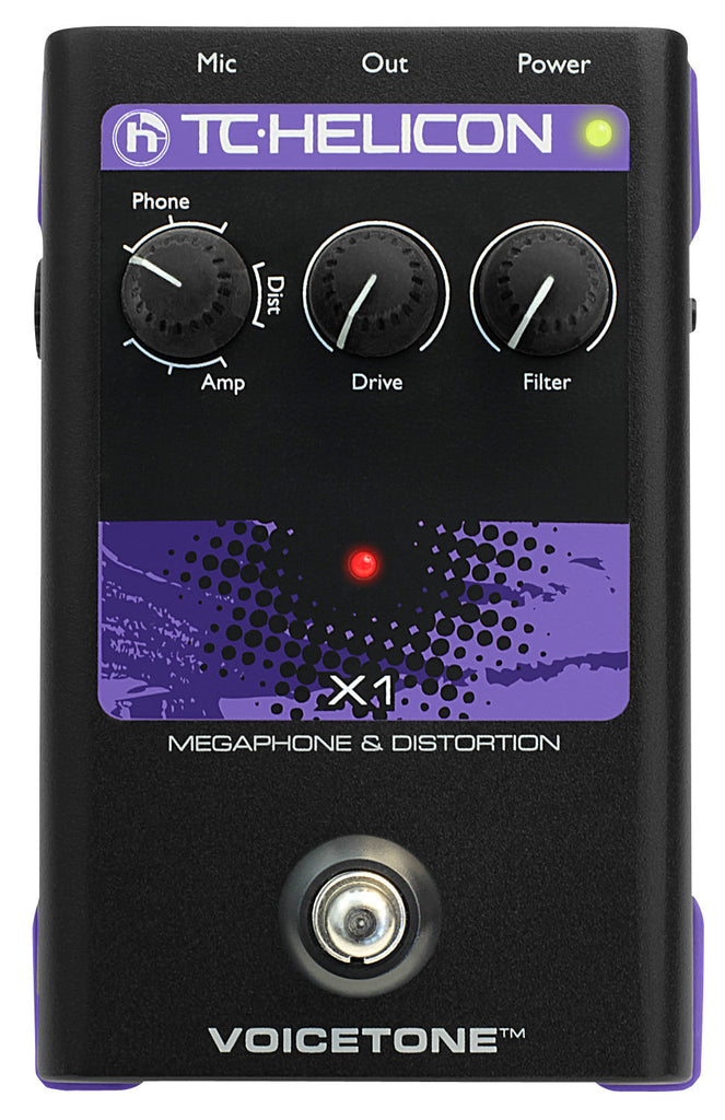 TC HELICON Voicetone X1 - La Pietra Music Planet