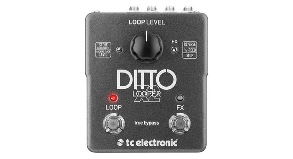 TC ELECTRONIC Ditto X2 Looper - La Pietra Music Planet - 1