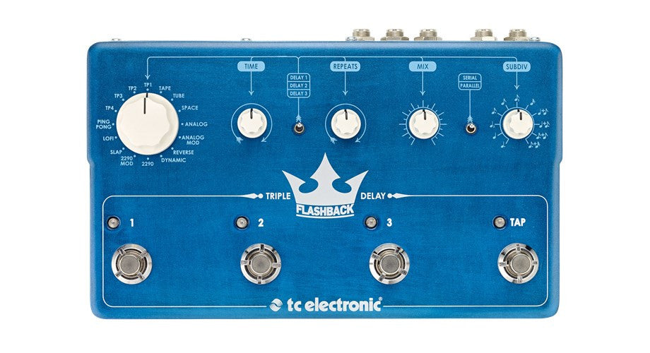TC ELECTRONIC Flashback Triple Delay - La Pietra Music Planet - 1