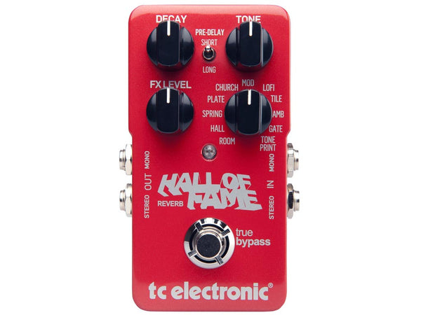 TC ELECTRONIC Hall of Fame Reverb - La Pietra Music Planet