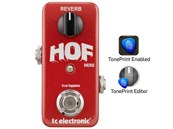 TC ELECTRONIC Hof Mini Hall of Fame Reverb - La Pietra Music Planet