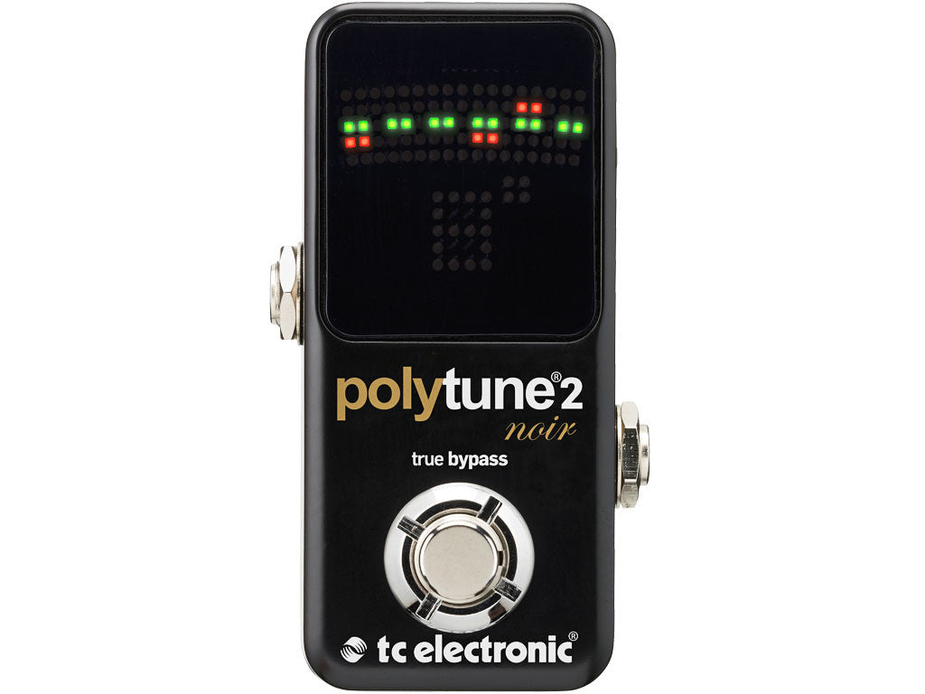 TC ELECTRONIC PolyTune 2 Mini Noir - La Pietra Music Planet