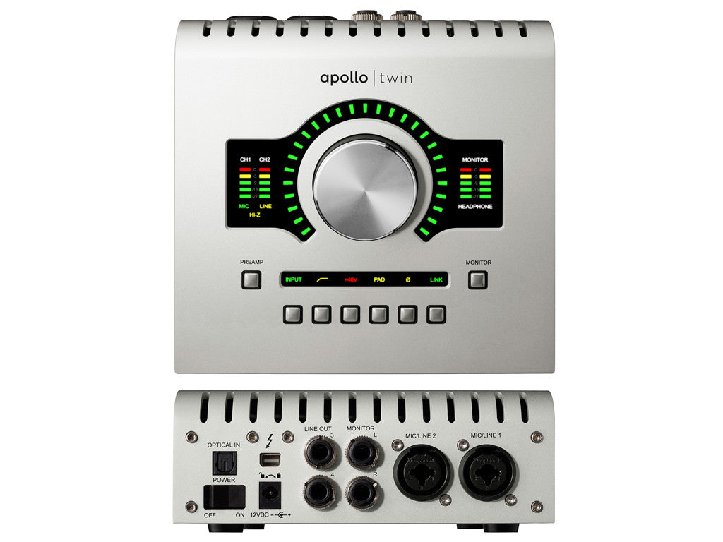 UNIVERSAL AUDIO Apollo Twin Duo - La Pietra Music Planet