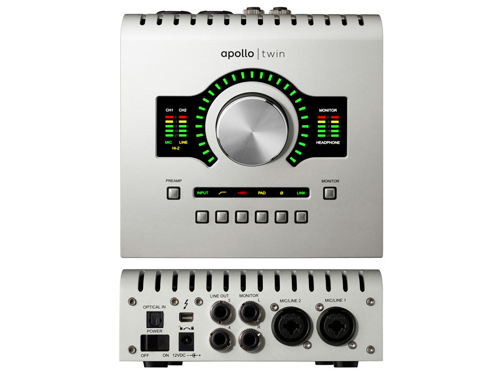 UNIVERSAL AUDIO Apollo Twin Solo - La Pietra Music Planet