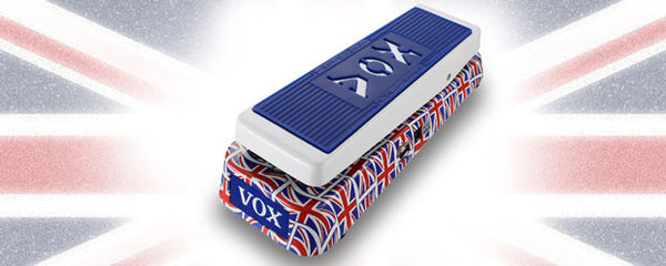 VOX V847A Union Jack Wah - La Pietra Music Planet