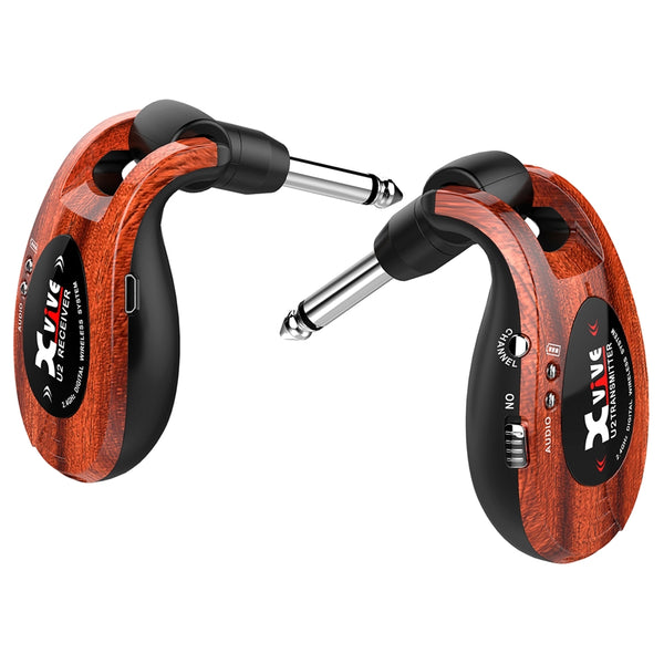 XVIVE U2 JACK WIRELESS 2.4GHZ WOOD