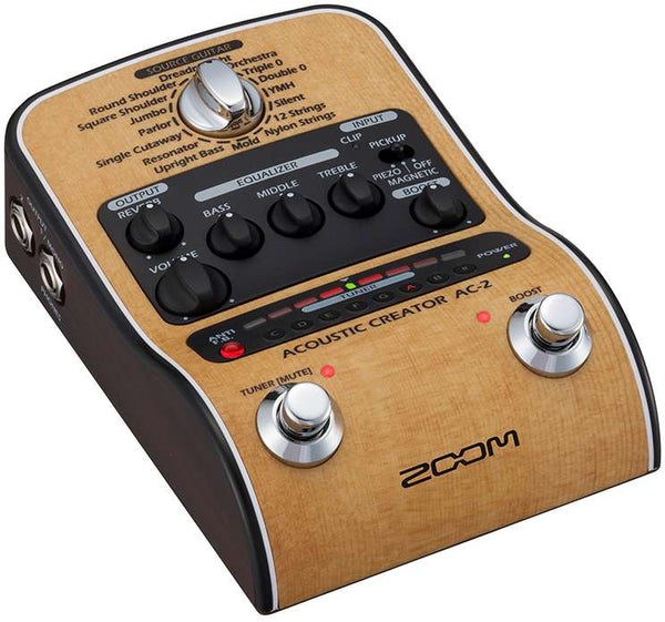 ZOOM AC2 PEDALE ACUSTICA