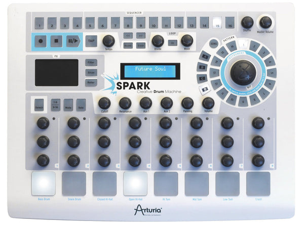 ARTURIA Spark Drum Maschine - La Pietra Music Planet