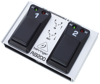 BEHRINGER AB200 Dual A/B Switch - La Pietra Music Planet - 1