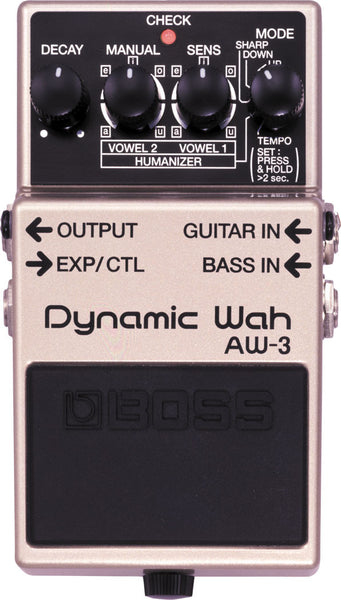 BOSS AW3 Auto Wah - La Pietra Music Planet