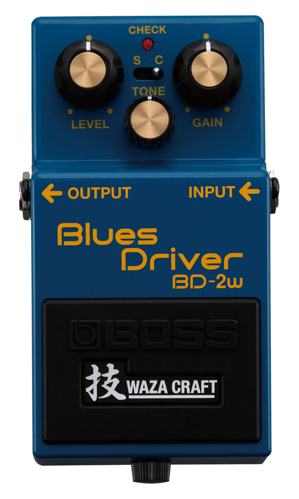 BOSS Bd2w Blues Driver (Waza Craft) - La Pietra Music Planet