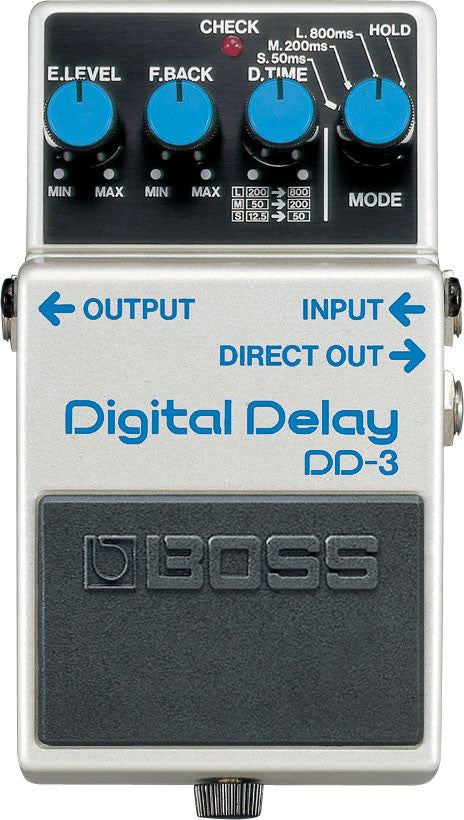 BOSS DD3 Digital Delay - La Pietra Music Planet