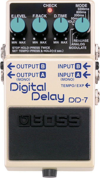 BOSS DD7 Digital Delay - La Pietra Music Planet