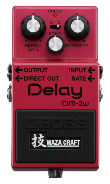 BOSS Dm2w Delay (Waza Craft) - La Pietra Music Planet