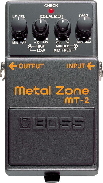 BOSS MT2 Metal Zone - La Pietra Music Planet - 1