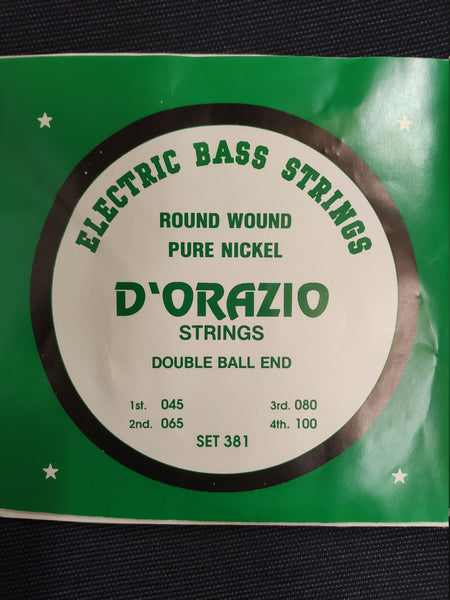 D ORAZIO SET 381 DOUBLE BALL END