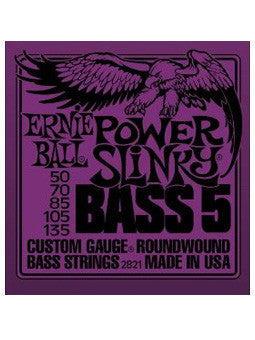 ERNIE BALL 2821 Power Slinky Basso 5 - La Pietra Music Planet