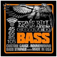 ERNIE BALL 3833 Coated Slinky Bass - La Pietra Music Planet