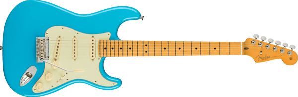 FENDER American Professional II Stratocaster®, Maple Fingerboard, Miami Blue
