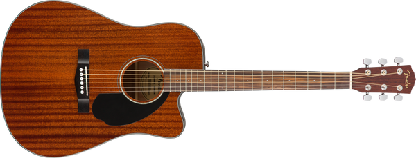 FENDER CD60SCE Dreadnought Walnut Fingerboard All-Mahogany