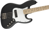SQUIER Contemporary Active Jazz Bass® HH Maple Fingerboard Flat Black