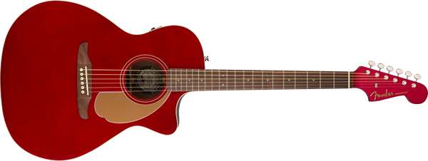 FENDER  Newporter Player Walnut Fingerboard Candy Apple Red