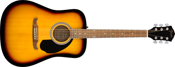 FENDER FA125 Dreadnought, Walnut Fingerboard, Sunburst