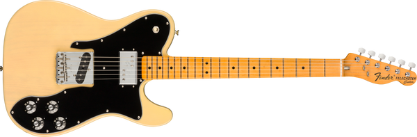 FENDER American Original 70s Telecaster® Custom, Maple Fingerboard, Vintage Blonde