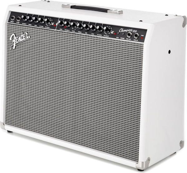 FENDER FRS Champion 100 White - La Pietra Music Planet