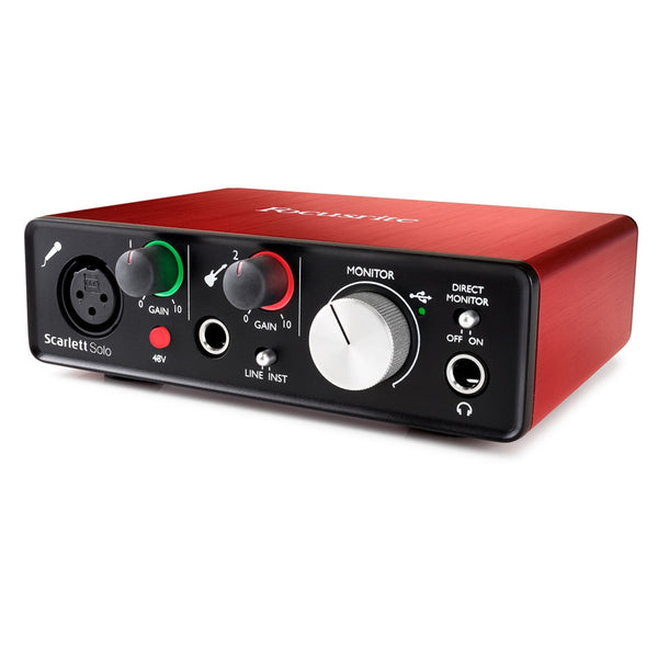 FOCUSRITE Scarlett Solo (2nd Generation) - La Pietra Music Planet - 1