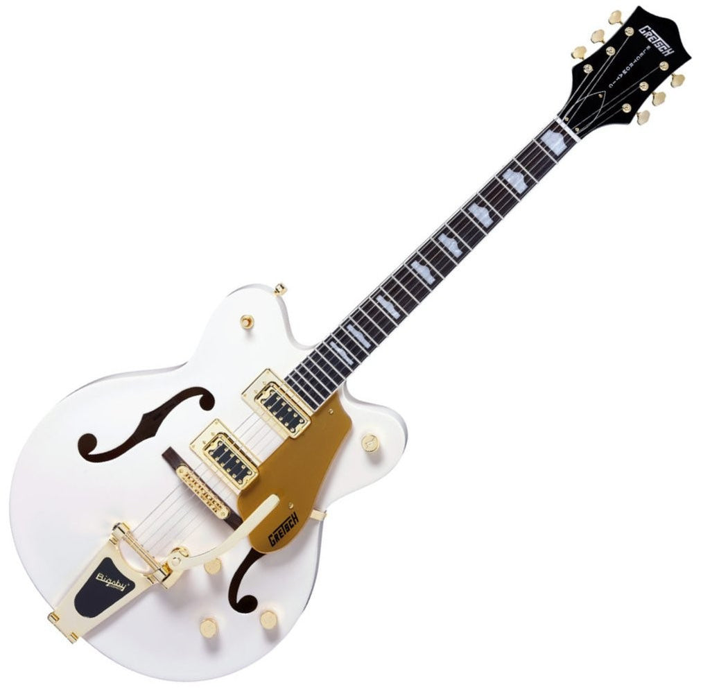 GRETSCH G5422TDCG Electromatic Hollow Body White - La Pietra Music Planet - 1