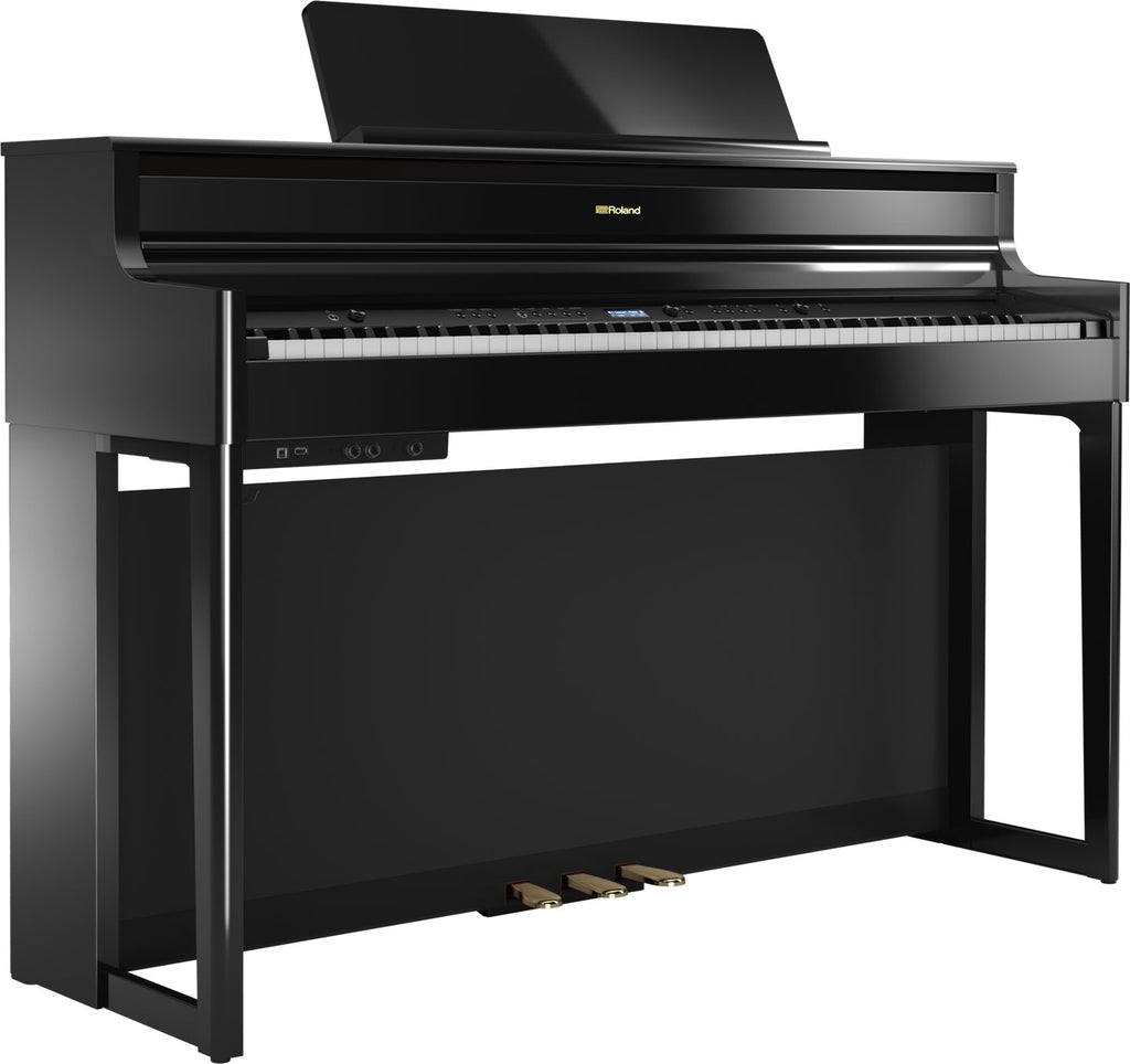 ROLAND HP 704 BK PE POLISHED EBONY