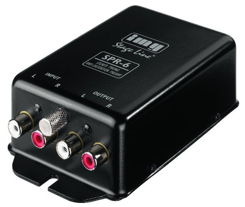 IMG STAGE LINE SPR6 Preamp. Phono R.I.A.A. - La Pietra Music Planet