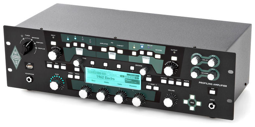 KEMPER Profiler Rack Nero - La Pietra Music Planet - 1