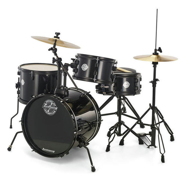 LUDWIG Pocket Kit Black Sparkle - La Pietra Music Planet