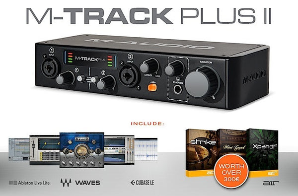 M AUDIO Mtrack Plus MkII - La Pietra Music Planet - 1