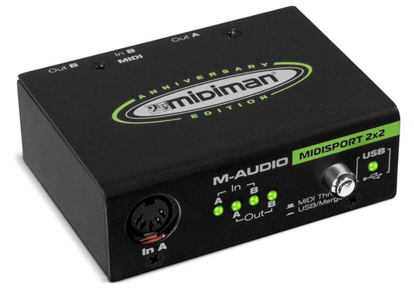 M AUDIO Midisport 2X2 USB Anniversary Edition - La Pietra Music Planet - 1