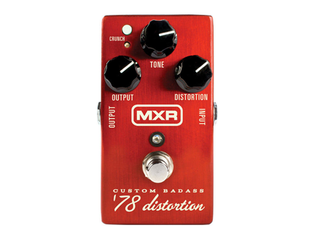 MXR M78 Badass Distortion - La Pietra Music Planet