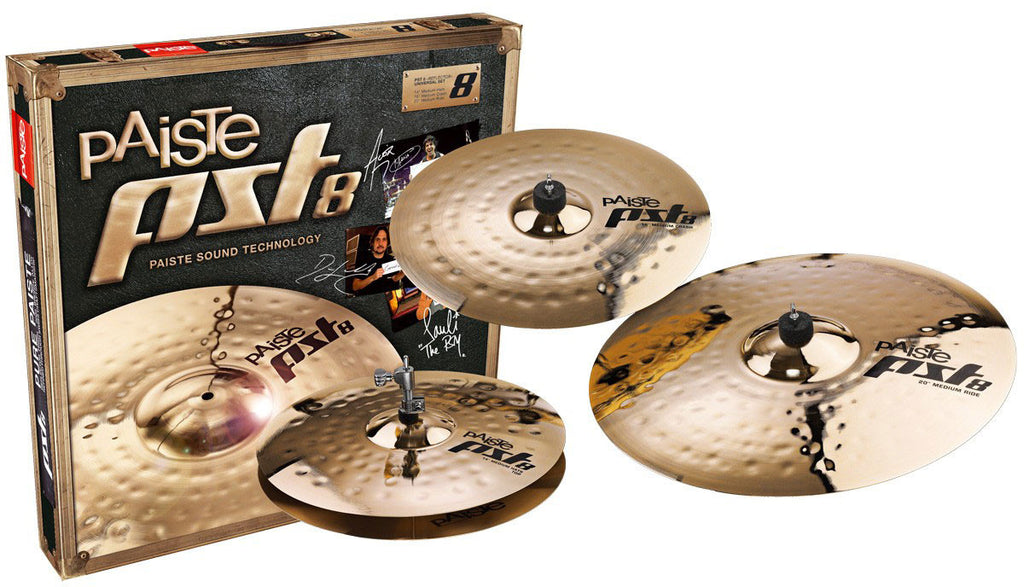 PAISTE Pst8 Reflector Rock Set - La Pietra Music Planet