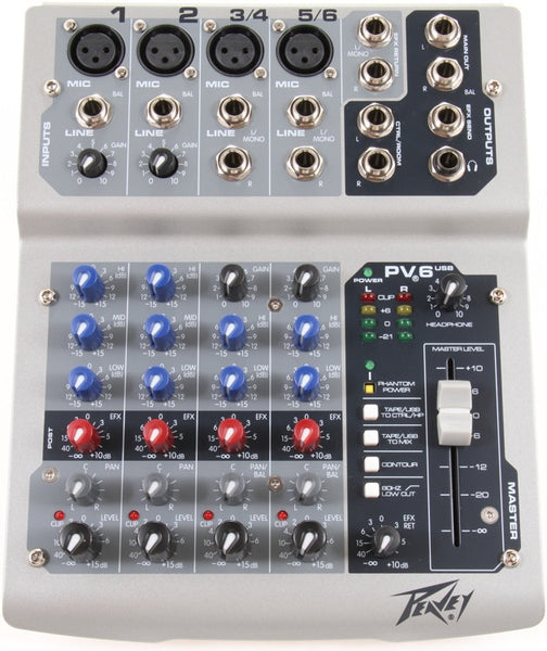 PEAVEY Pv6 Usb - La Pietra Music Planet