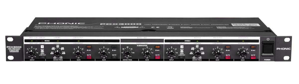 PHONIC Pcx3000 CrossOver - La Pietra Music Planet - 1